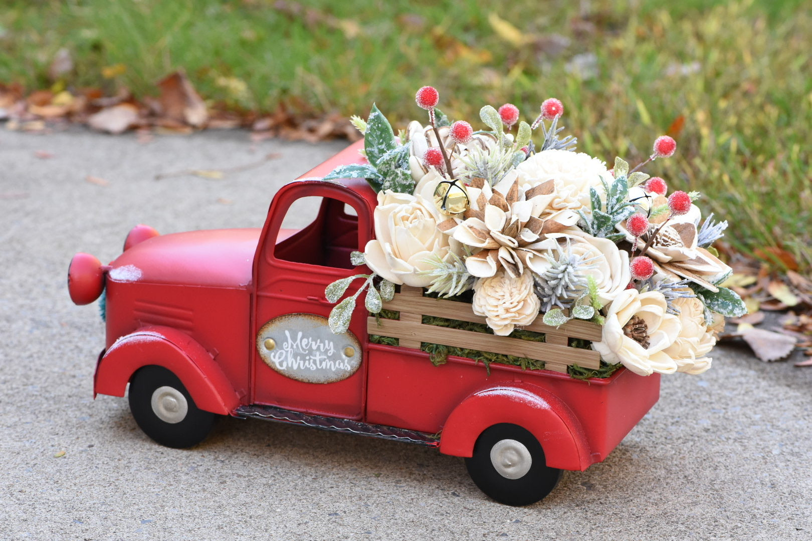 *Made to Order* Holiday Truck (Red)