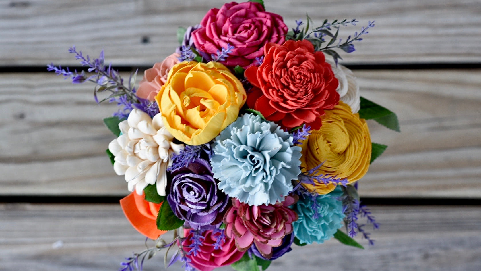 18 Stem Brights Bouquet