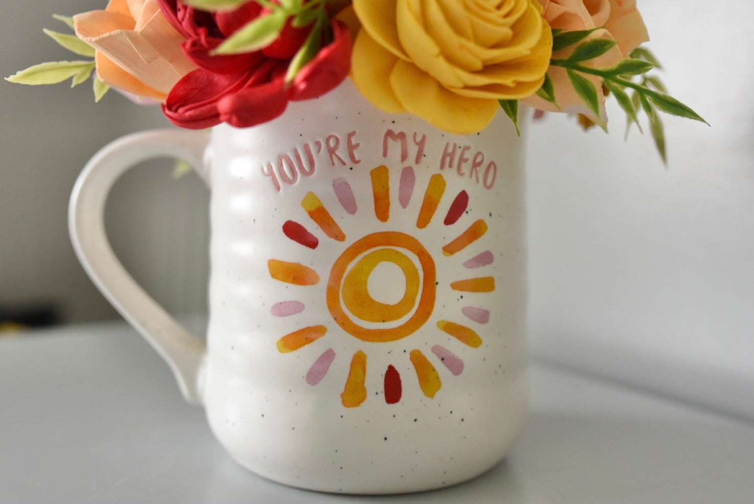 You're My Hero Mug