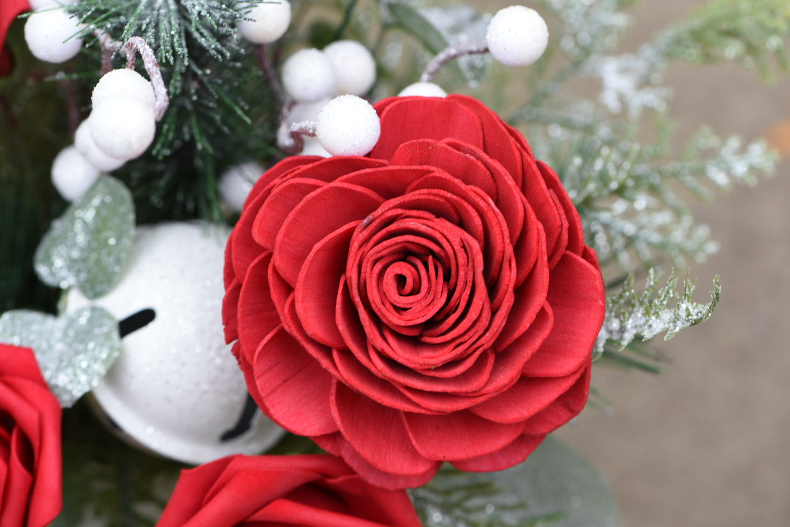 Holiday Roses Milk Jug