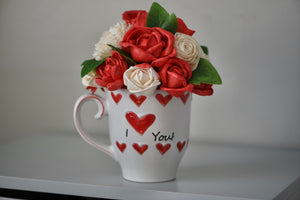 I Love You Heart Mug