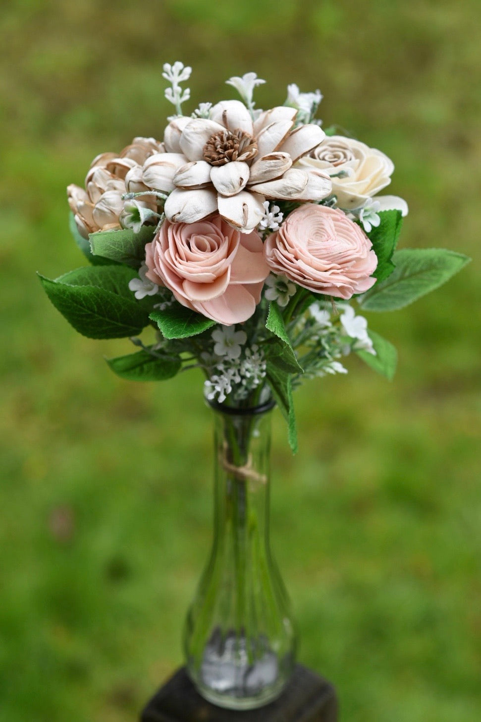 Naturally Blush Mini Bouquet