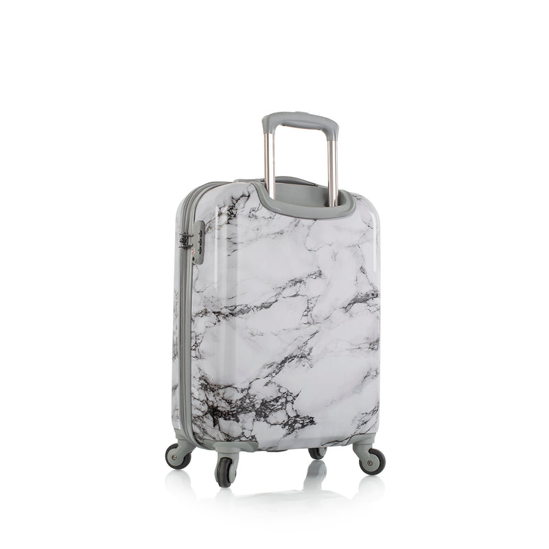 "Bianco - White Marble 21"" Fashion Spinner® Carry-on"