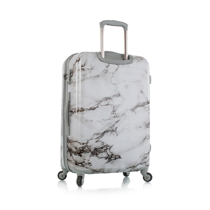 "Bianco -White Marble 26"" Fashion Spinner®"