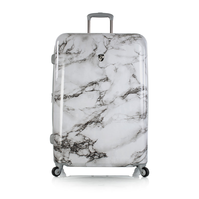 "Bianco -White Marble 30"" Fashion Spinner®"