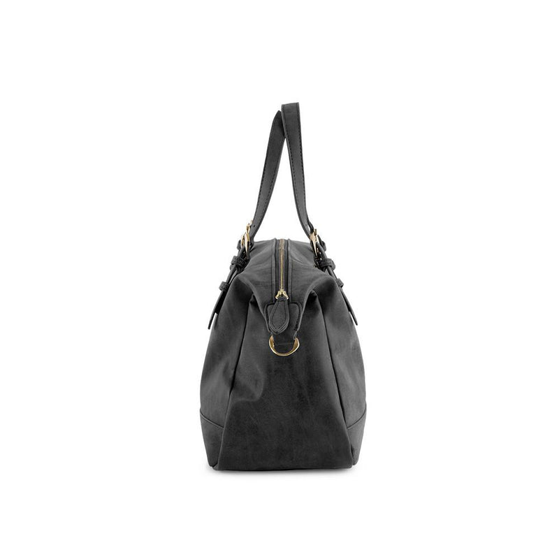 True Blue Soft Satchel - Black