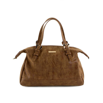 True Blue Soft Satchel - Tan