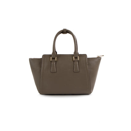 La Mode Winged Satchel - Taupe