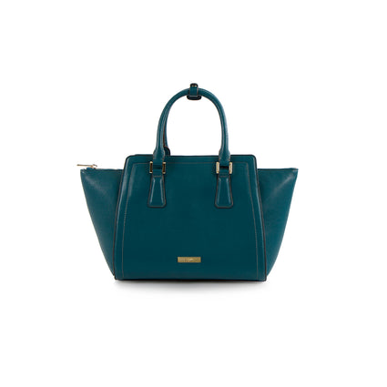 La Mode Winged Satchel - Teal