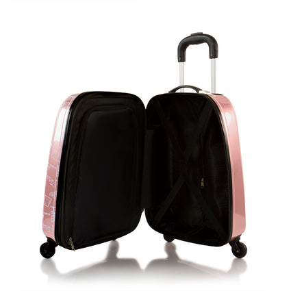 Mattel Tween Spinner Luggage- Barbie (MT-HSRL-TSP-B02-19AR)