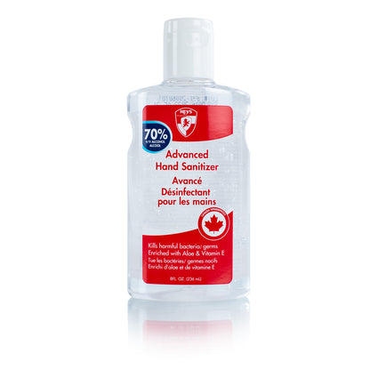Hand Sanitizer 70% Alcohol (236ml / 8oz)