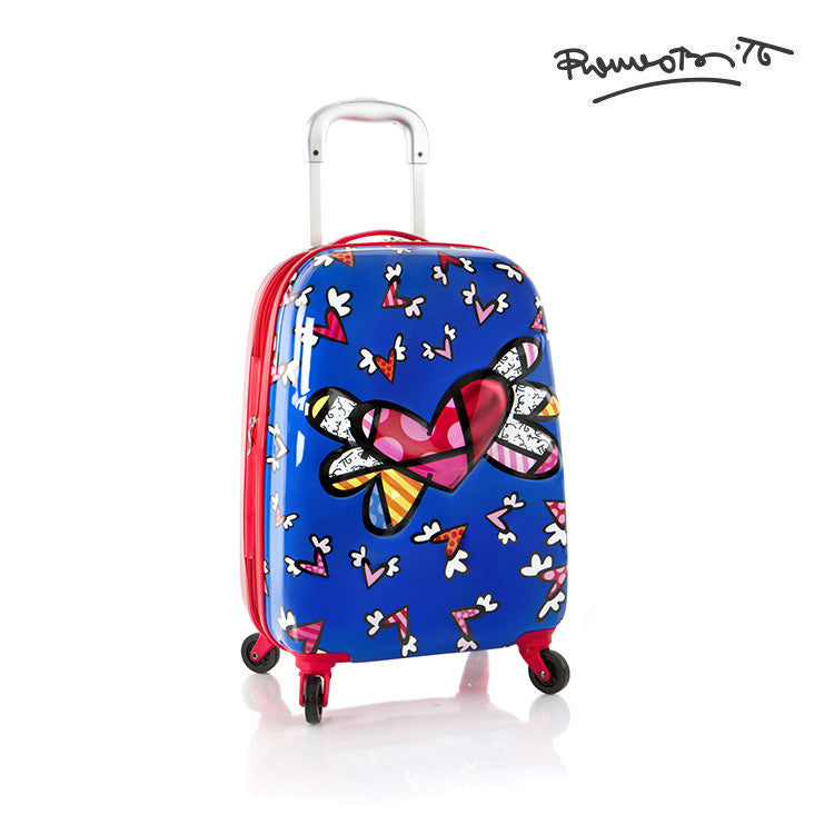 Britto 3D Pop Up Spinner - (BTO-HSRL-3DTSP-01) - Flying Hearts
