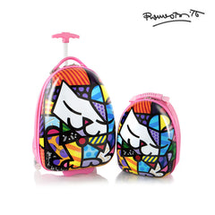 Britto for Kids - Luggage and Backpack Set - Kitty