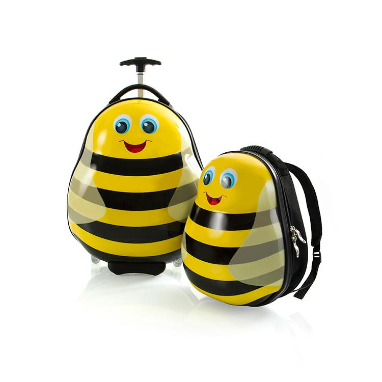 Travel Tots Bumble Bee - Kids Luggage & Backpack Set