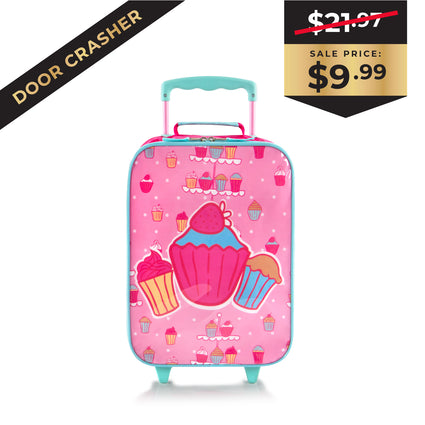 Black Friday Door Crasher - Kids Softside Luggage – Cupcake (HEYS-BSSRL-07-18AR)