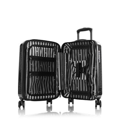 "Black Leopard Fashion Spinner® 21"" Carry-on"