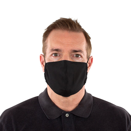 Reusable Face Masks - Black 2 Pack