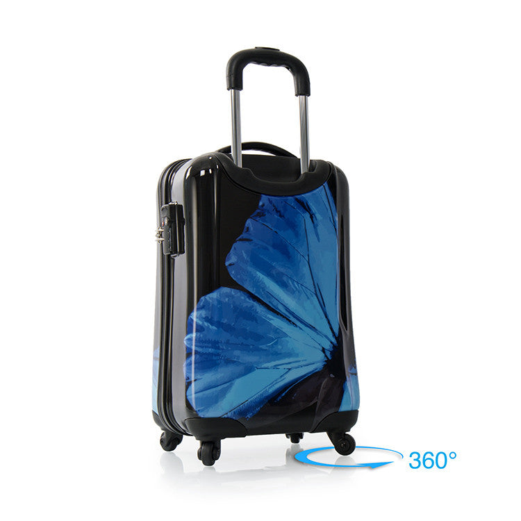 "Blue Morpho 21"" Fashion Spinner® Carry-on"