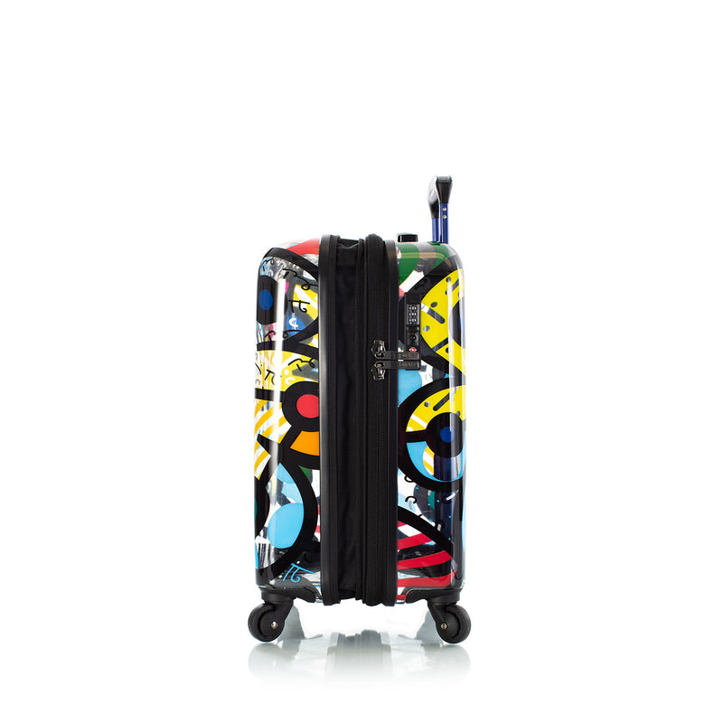 "Britto - Butterfly Transparent 21"" Carry-on"