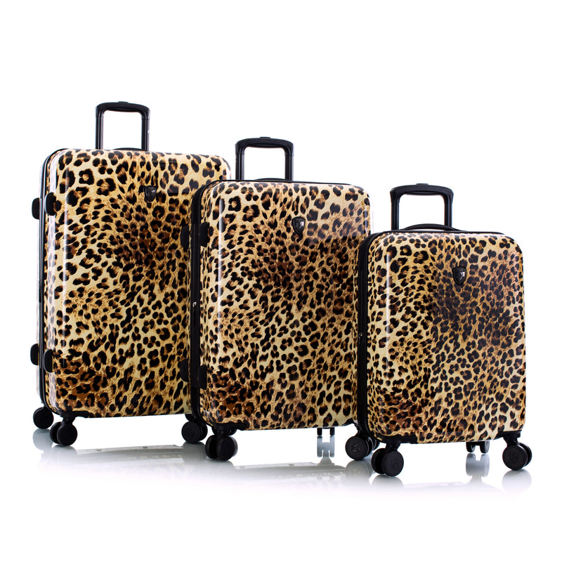 Brown Leopard Fashion Spinner® 3pc. Set