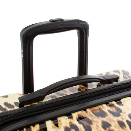 "Brown Leopard Fashion Spinner® 21"" Carry-on"