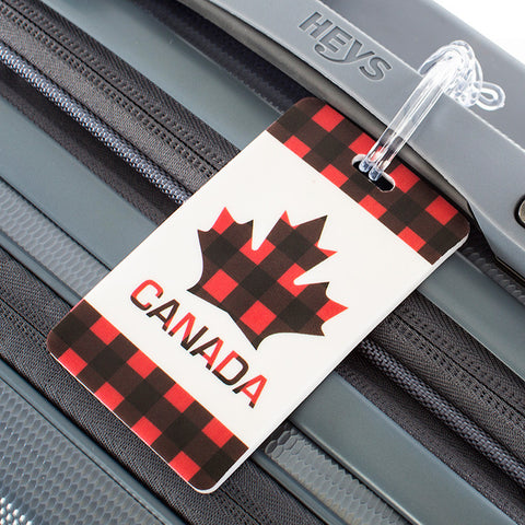 Canada Maple Luggage Tag 2pc Set