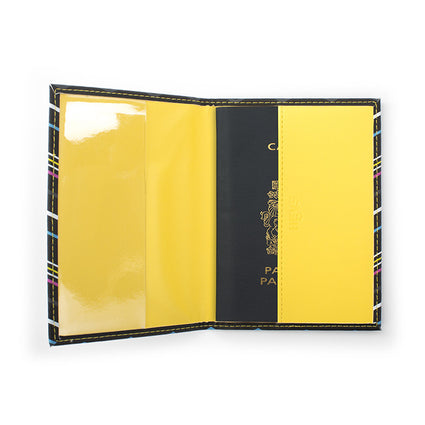CMYK Zig-Zag Passport Holder