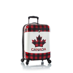 "Canada Maple Check Fashion Spinner® 21"" Carry-on"