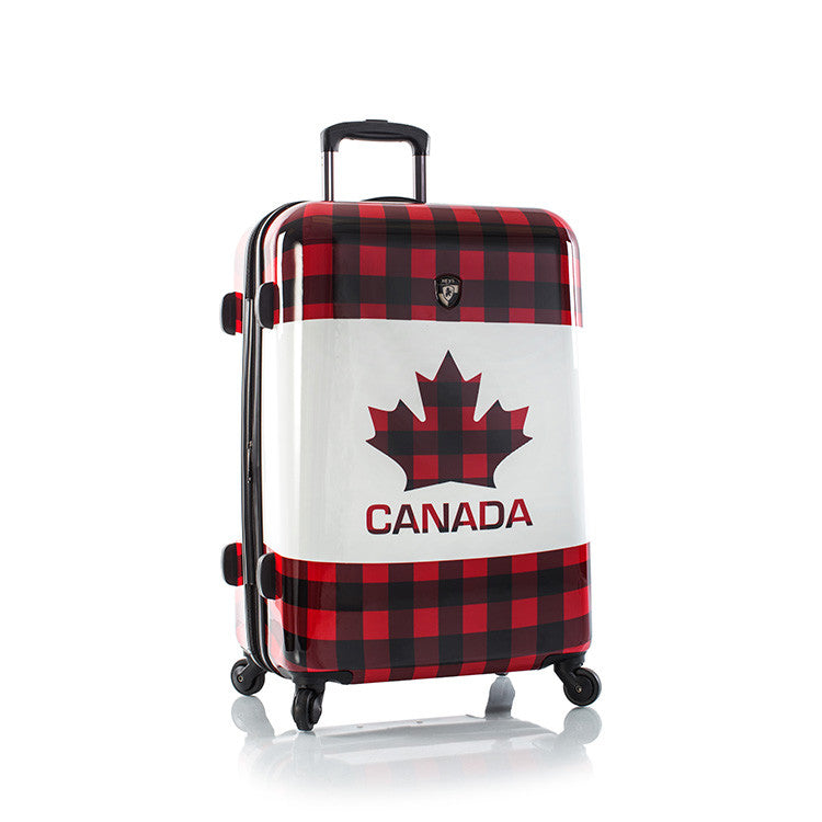 "Canada Maple Check 26"" Fashion Spinner®"