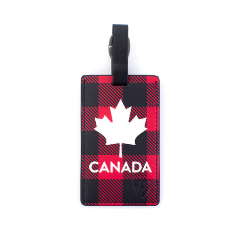 Canada Check Luggage Tag