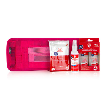 Car Care Kit - Fuchsia