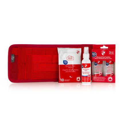 Car Care Kit - Red