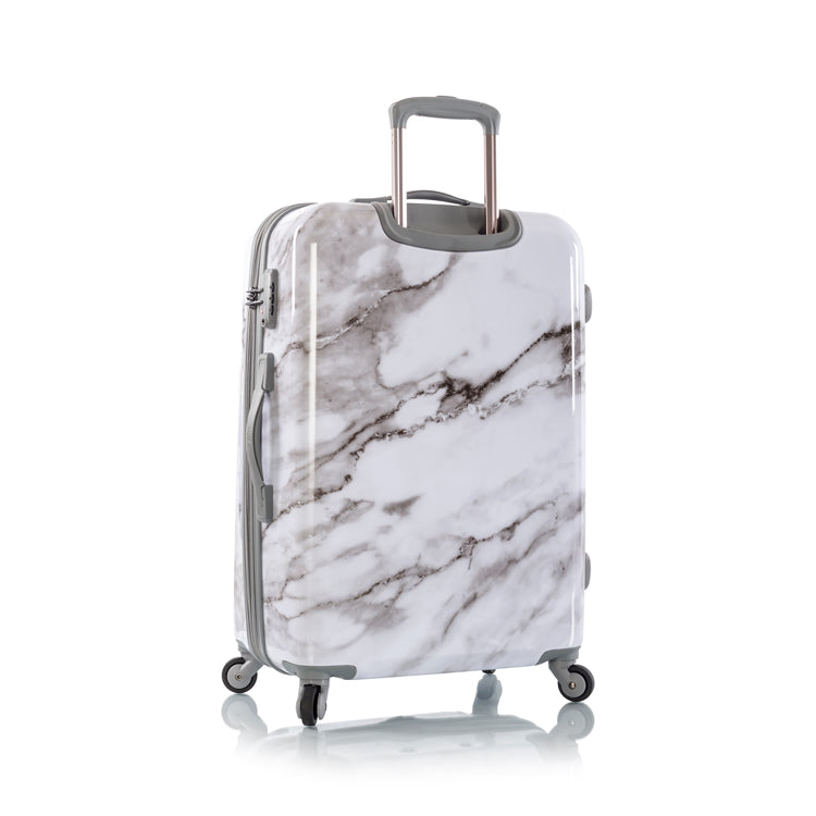 "Carrara - White Marble 26"" Fashion Spinner®"