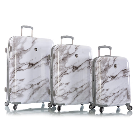 Carrara - White Marble Fashion Spinner® 3pc. Set