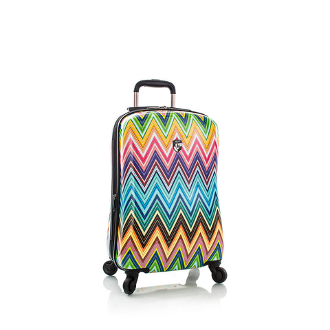 "Colour Herringbone 21"" Fashion Spinner® Carry on"
