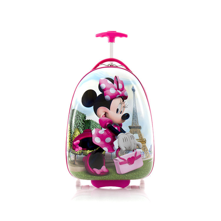 Disney Minnie Mouse Kids Luggage - (D-HSRL-ES-MN19-15FA)