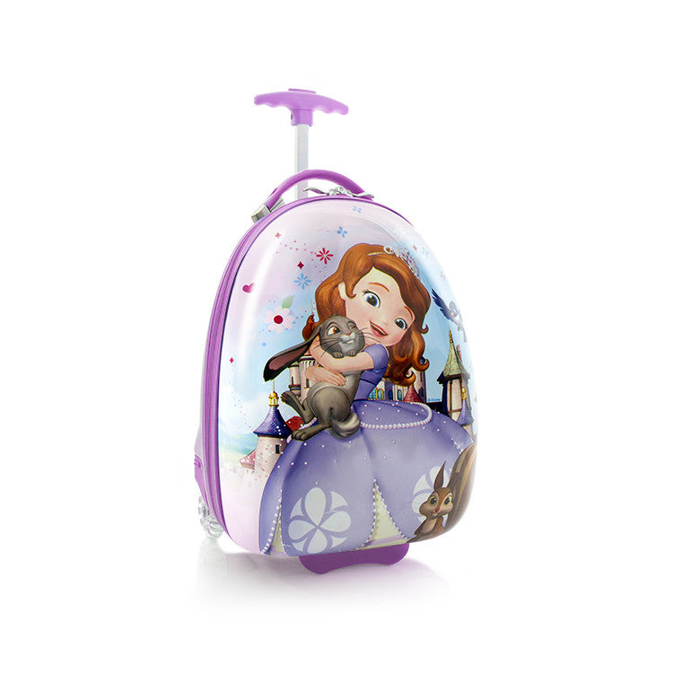 Disney Sofia Kids Luggage - (D-HSRL-ES-S15-15FA)