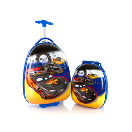 Disney Kids Backpack and Luggage Set - Cars - (D-HSRL-ES-ST-C16-16FA)