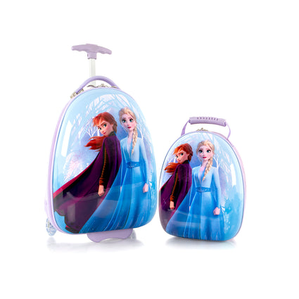 Disney Kids Backpack & Luggage Set - Frozen - (D-HSRL-ES-ST-FZ01-20AR)