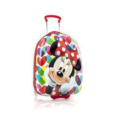Disney Minnie Mouse Kids Luggage - (D-HSRL-MN01-13FA)