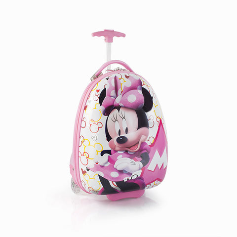 Disney Minnie Mouse Kids Luggage - (D-HSRL-ES-MN14-14FA)