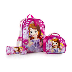 Disney Backpack with Lunch Bag AND Pencil Case - Sofia (D-ST-S02-15FA)