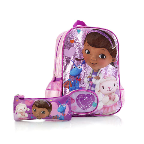 Disney Backpack with Pencil Case - Doc McStuffins (D-BP-DM06-14FA)
