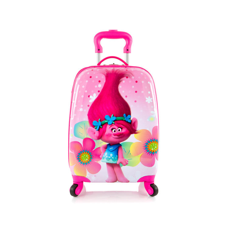 DreamWorks Kids Spinner Luggage - Trolls (DW-HSRL-SP-TR09-16FA)