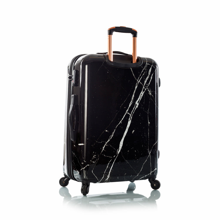 "Dakara - Black Marble 26"" Fashion Spinner®"