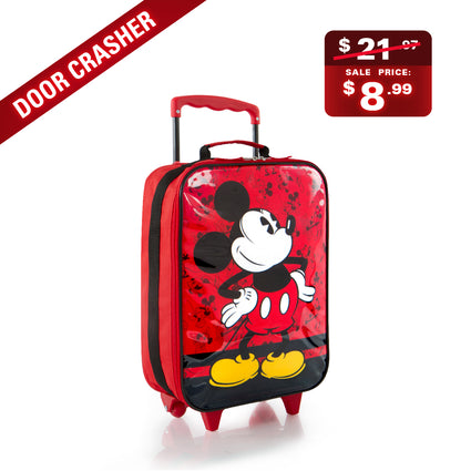 BOXING WEEK DOOR CRASHER - Mickey Mouse Softside Luggage (D-BSSRL-MK02-18AR)