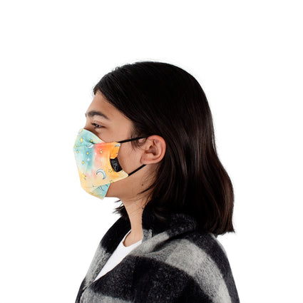 Kids Reusable Fashion Face Mask - Dream Sky