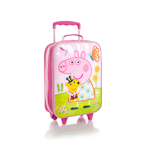 E-One Basic Softside Luggage-Peppa Pig (E-BSSRL-PG01-18AR)