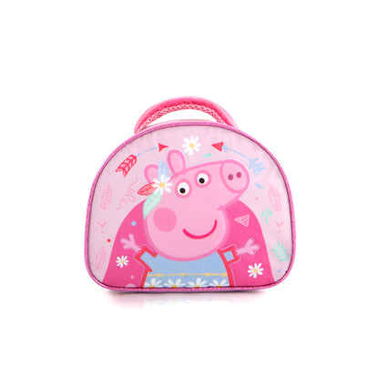 eOne Backpack with Lunch Bag – Peppa Pig (E-BST-PG01-18BTS)
