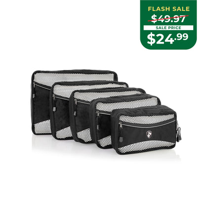EARTH DAY FLASH SALE - Ecotex Packing Cube 5pc Set™ II *NEW*